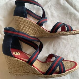 New Ralph Lauren wedge sandals